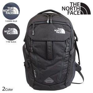 The North Face Surge Mens backpack in Black